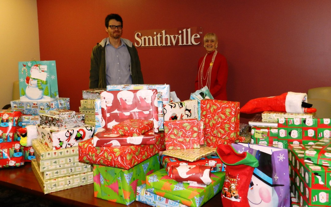 Smithville Communications, Inc. makes CASA kids holiday brighter