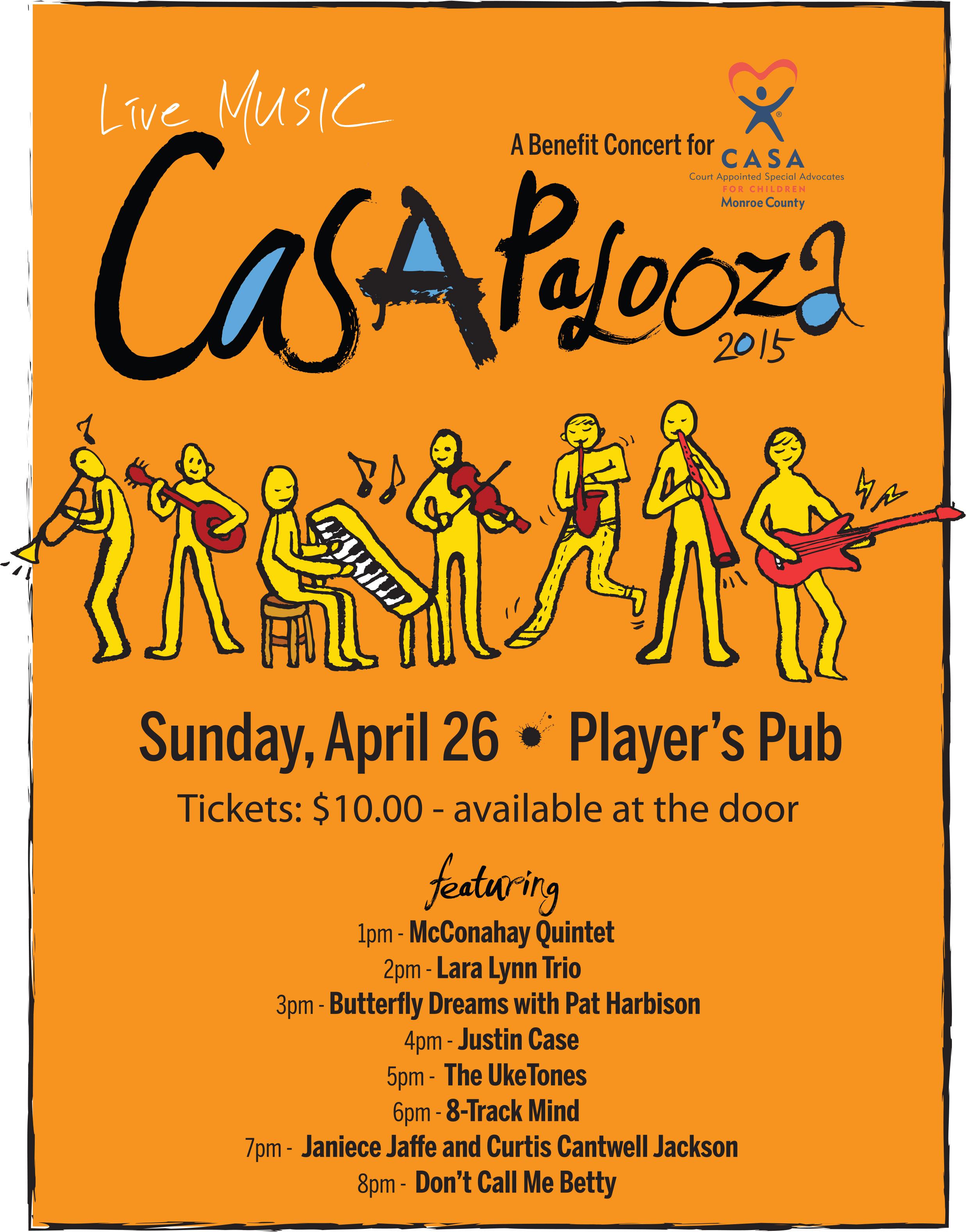 CASApalooza poster
