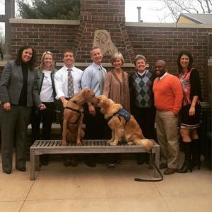 Courthouse Dog Team